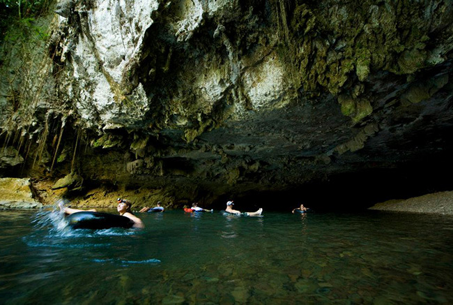 Belize Cave Tubing Tours