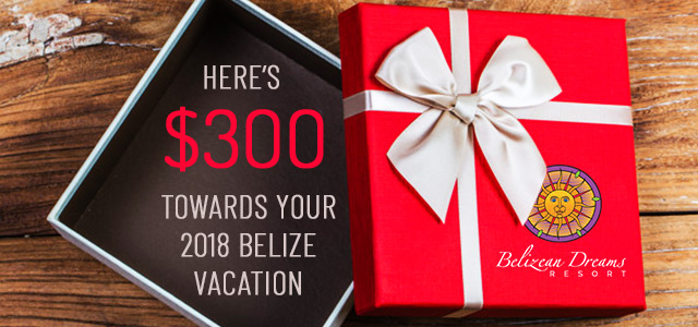 $300 Towards Your Belize Vacation