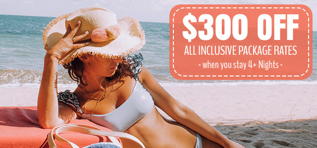 Sizzling Summer All Inclusive Package Deal