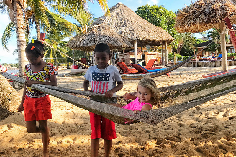 all inclusive belize resort for kids
