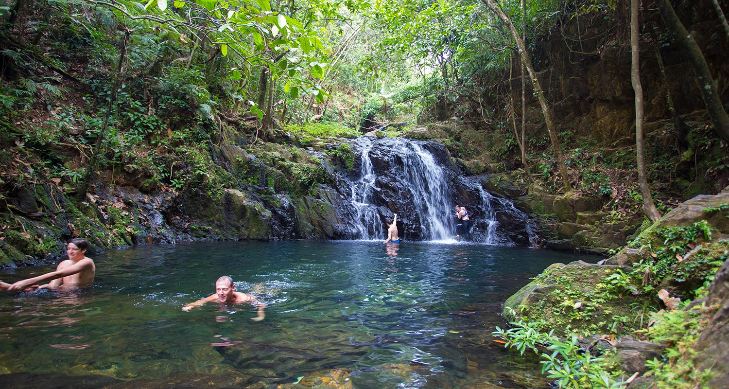 Belize Waterfall Hiking Tour