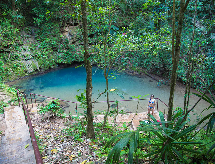 Belize Inland Blue Hole Tour