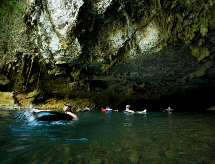 Belize Cave Tubing and Ziplining Tour